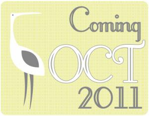 Coming October 2011